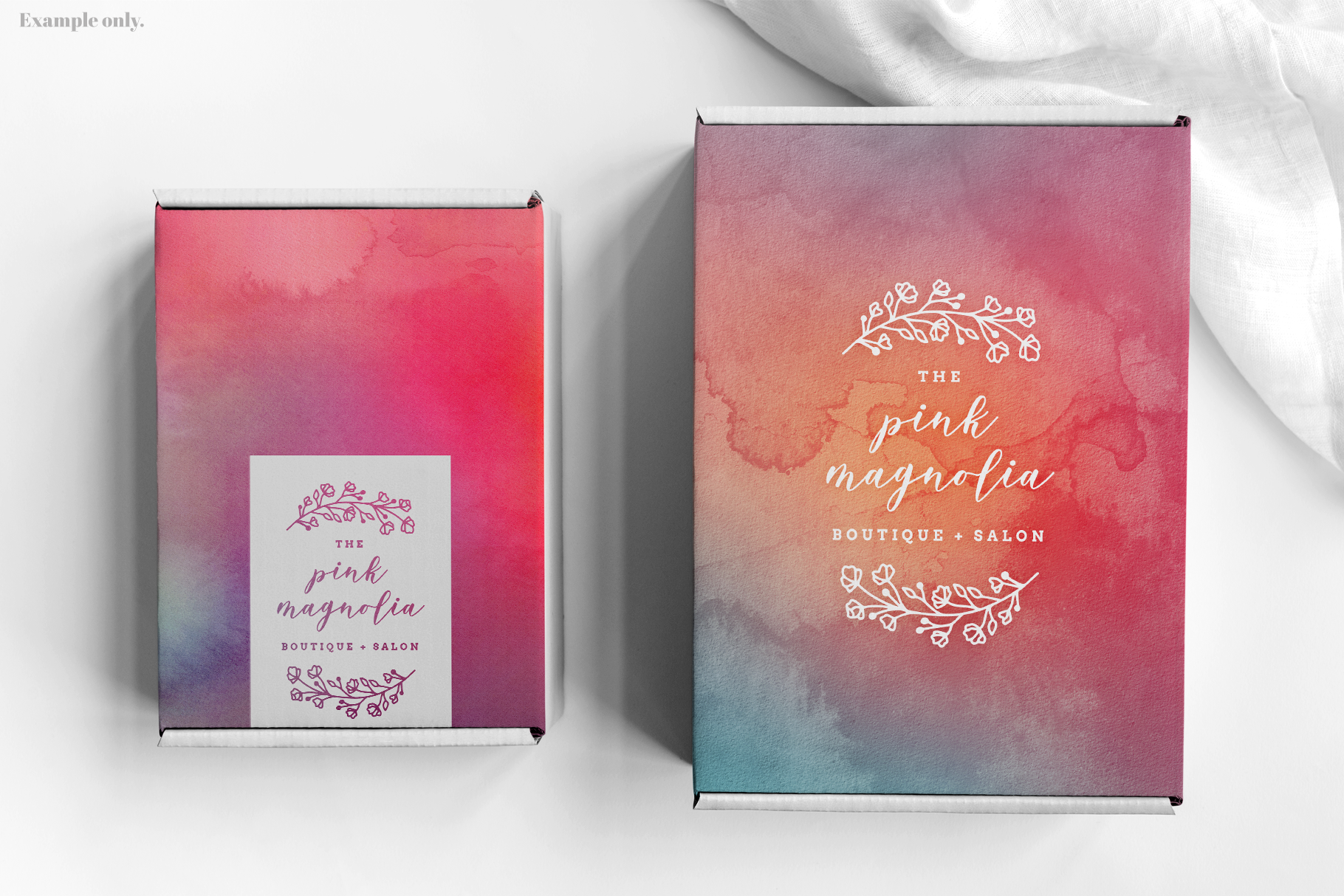 Cotton Candy Watercolor Textures | 6 Pack example image 4