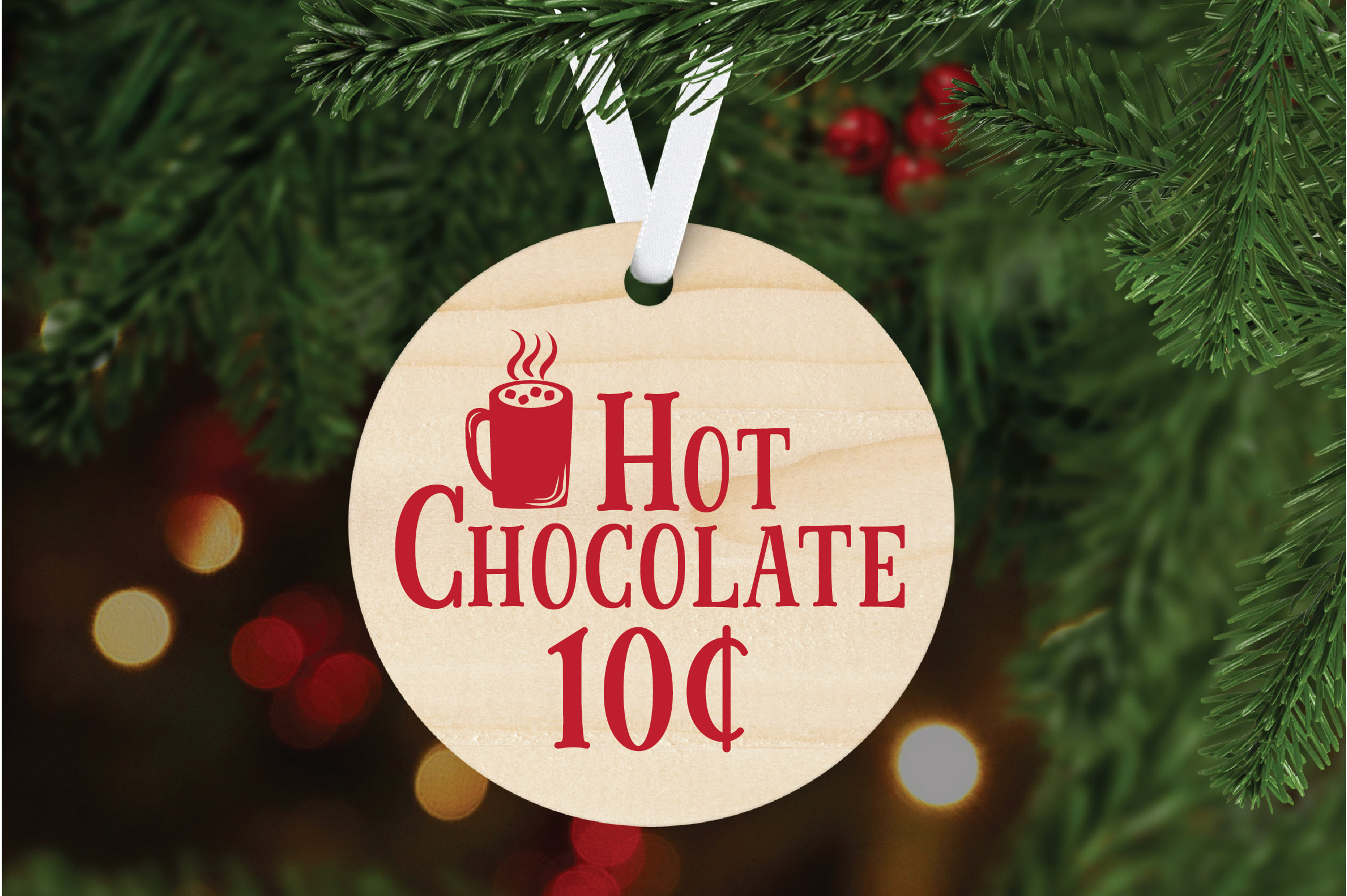 Christmas SVG Cut File - Hot Chocolate SVG DXF PNG EPS JPG example image 6