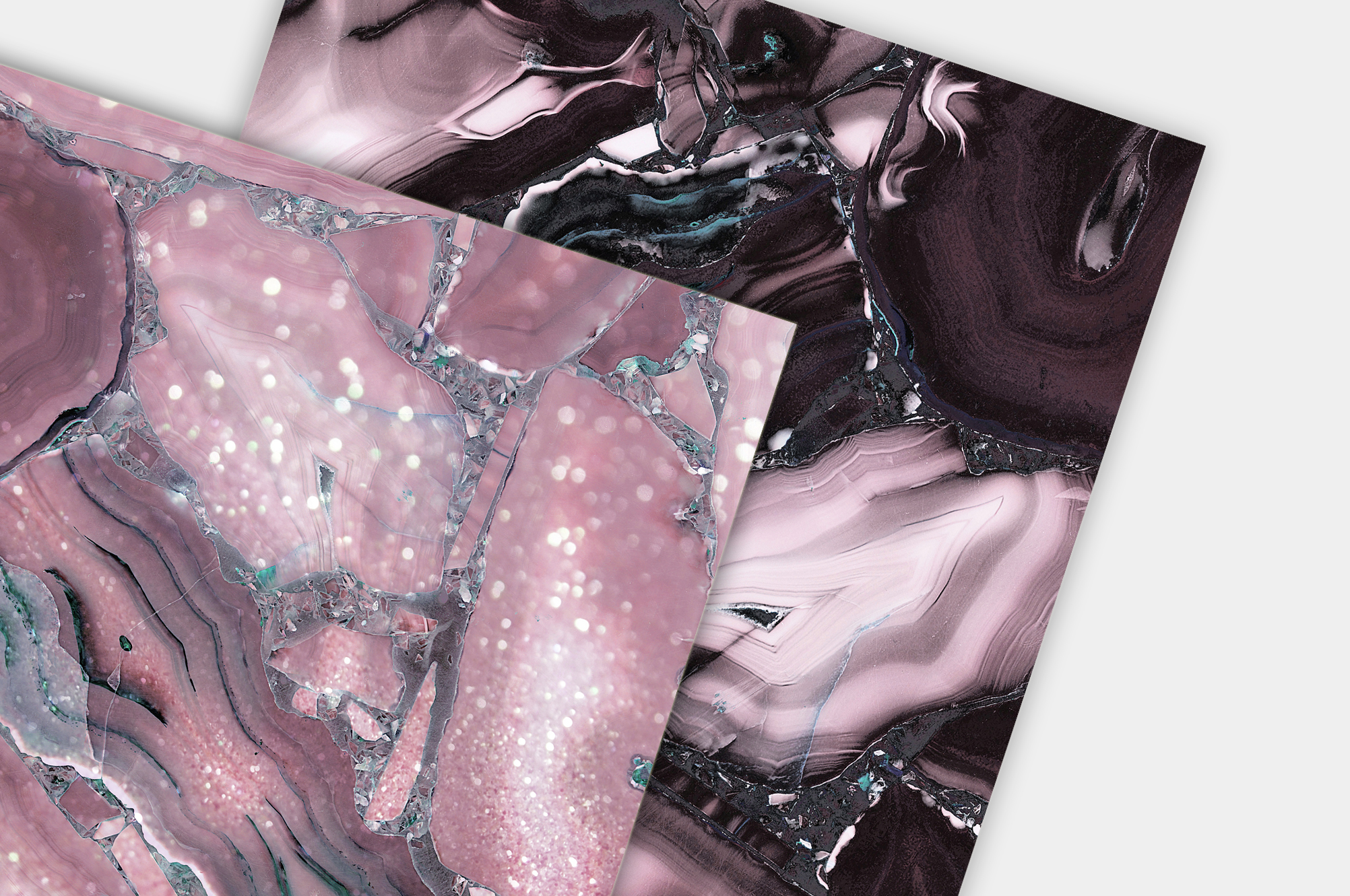 Oil Paint and Marble Textures BUNDLE example image 12