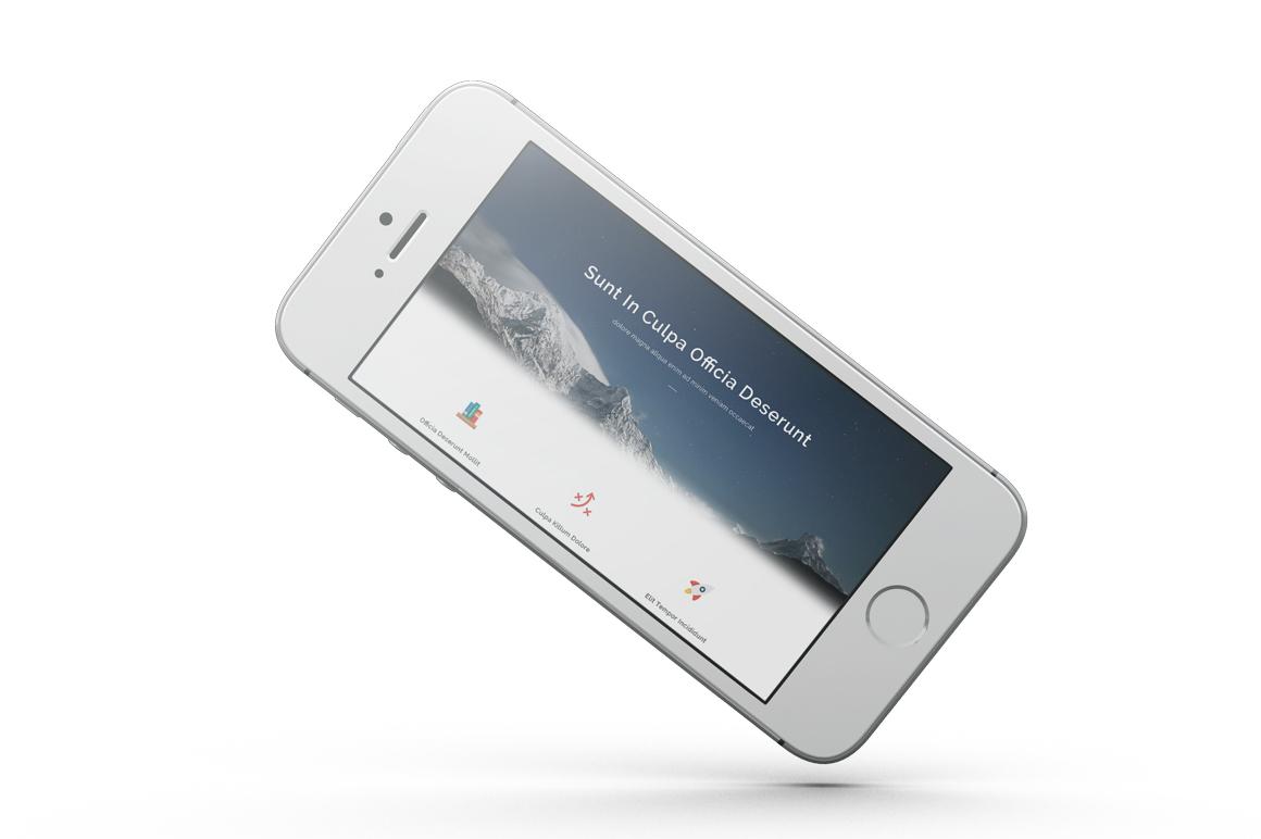 iPhone SE Mockup example image 10