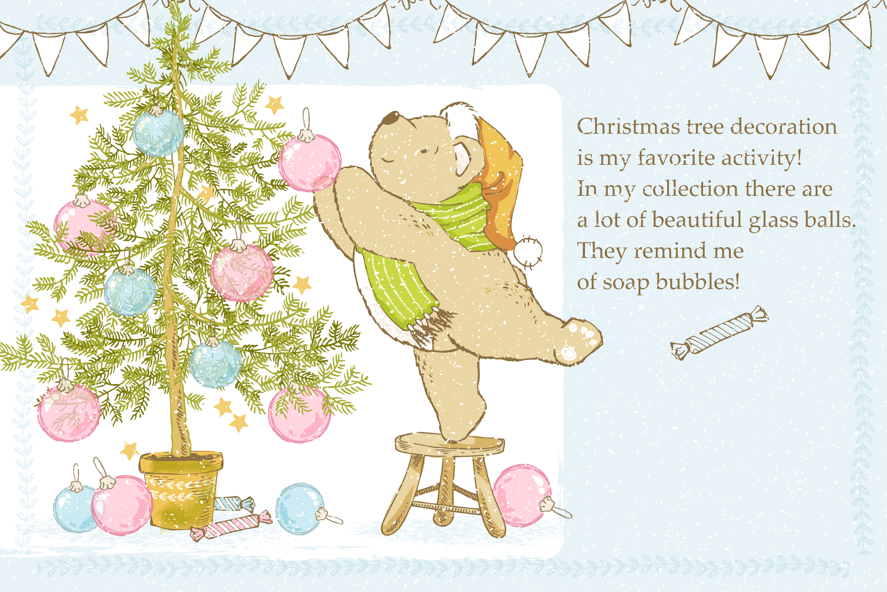 Teddy Bear little story. example image 5