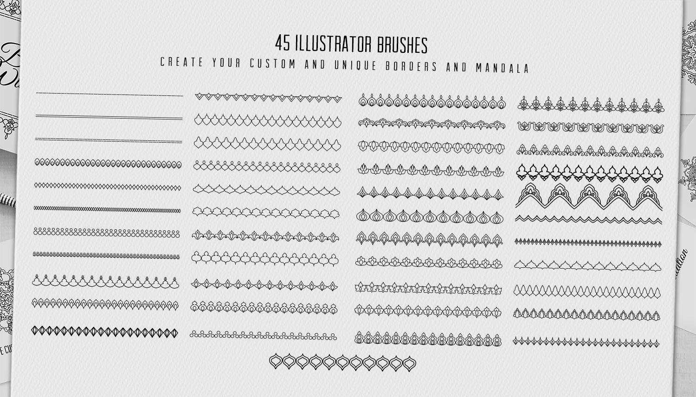 36 mandala designs-45 pattern brushes example image 4