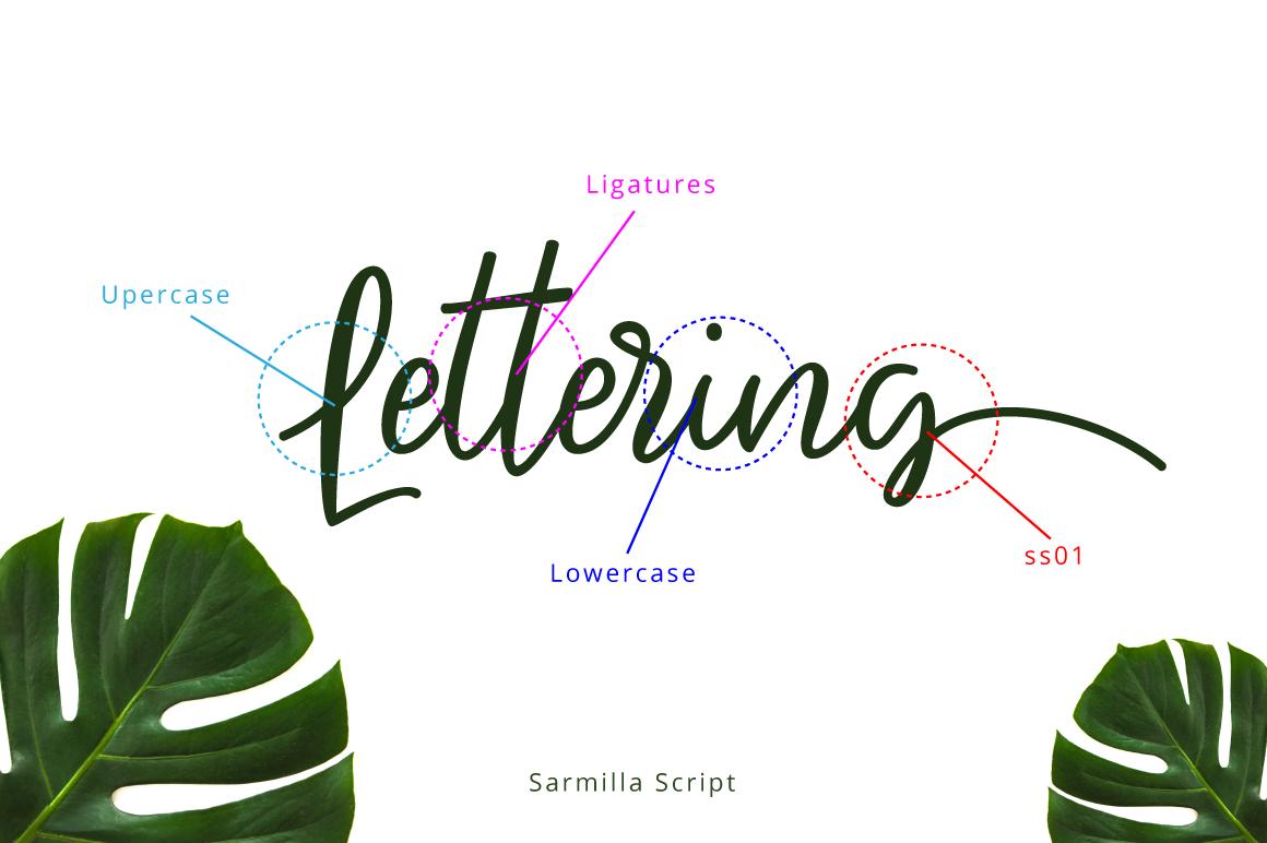 Sarmilla Script example image 8