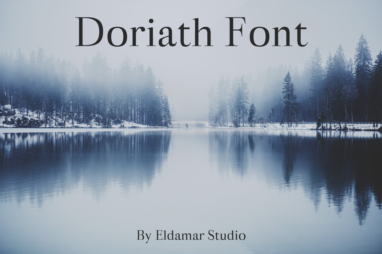 Doriath Font example image 1