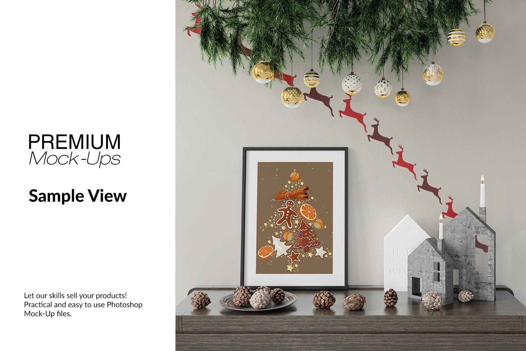 Christmas Frames & Wall Set example image 7