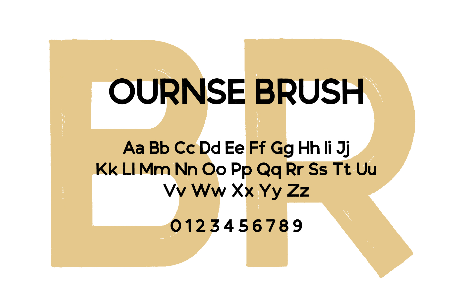 Ourense font duo example image 2