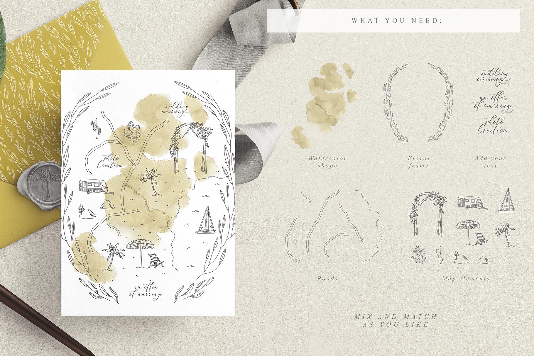 Wedding Map Creator example image 14
