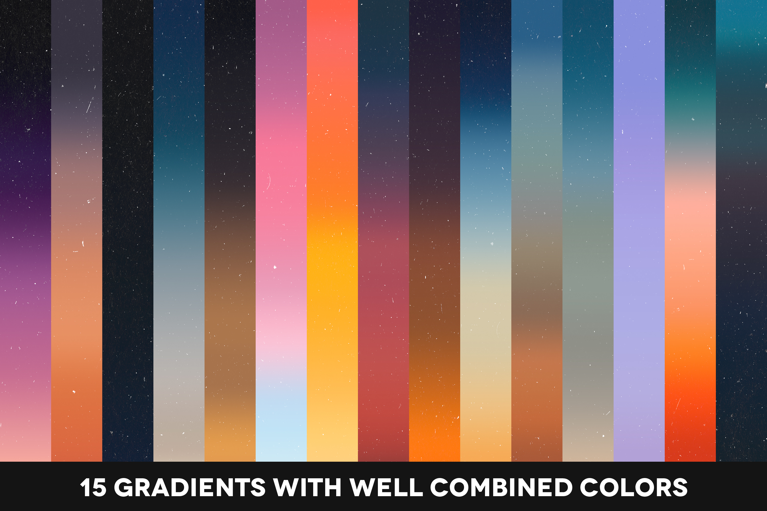 Nights&Sunsets - 15 Natural Gradients Pack example image 2