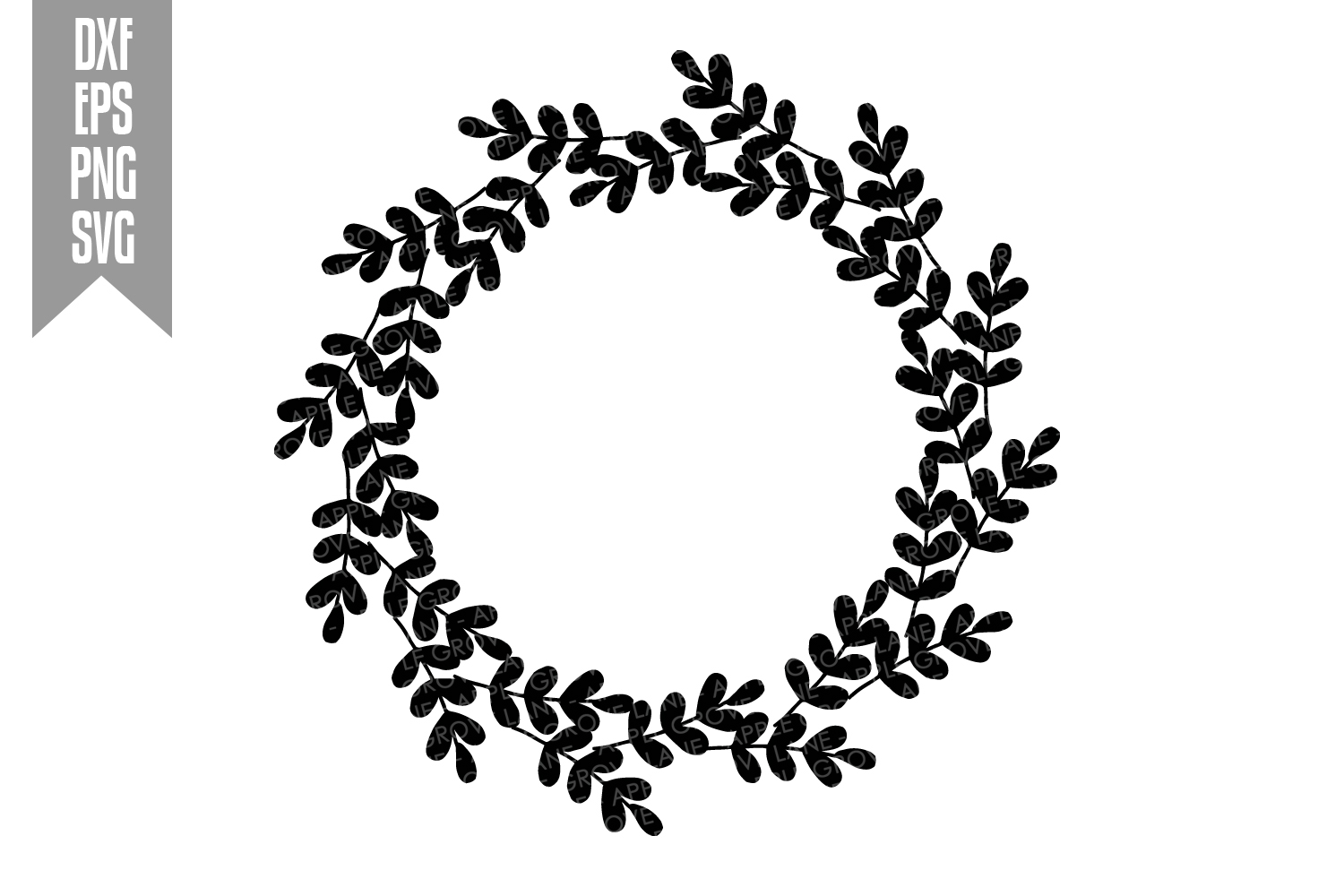Wreath Svg Bundle - 6 designs included - Svg Cut Files example image 3