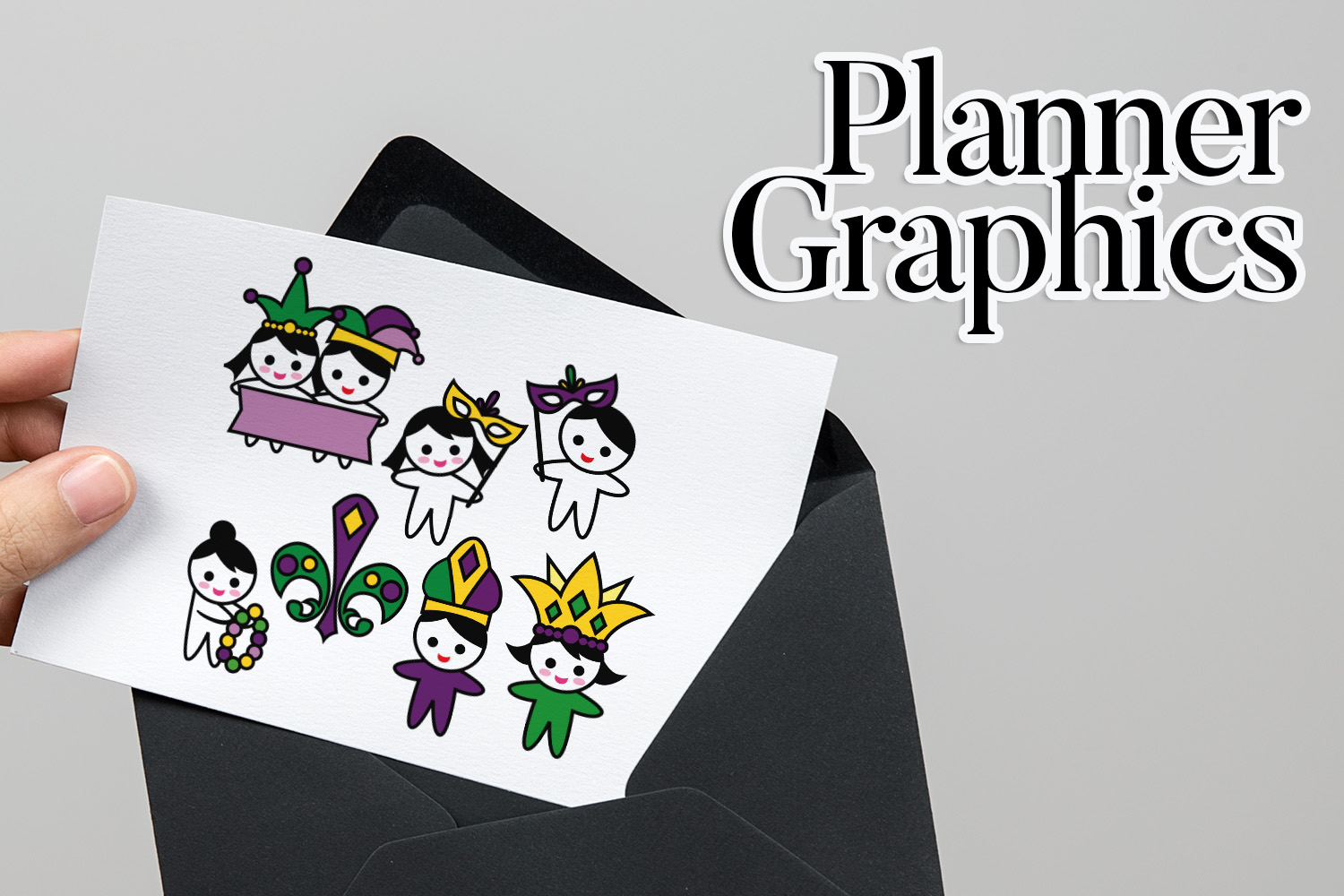 Holidays Bundle - Planner Graphic Illustrations example image 19