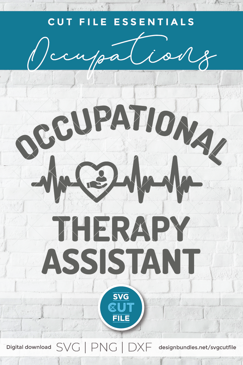 Occupational Therapy Assistant svg, Occupational Therapist example image 2