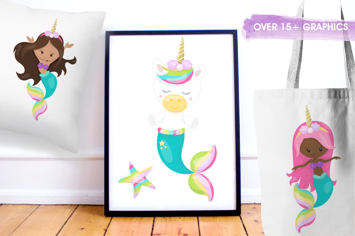 I wanna be a unicorn graphic and illustrations example image 4