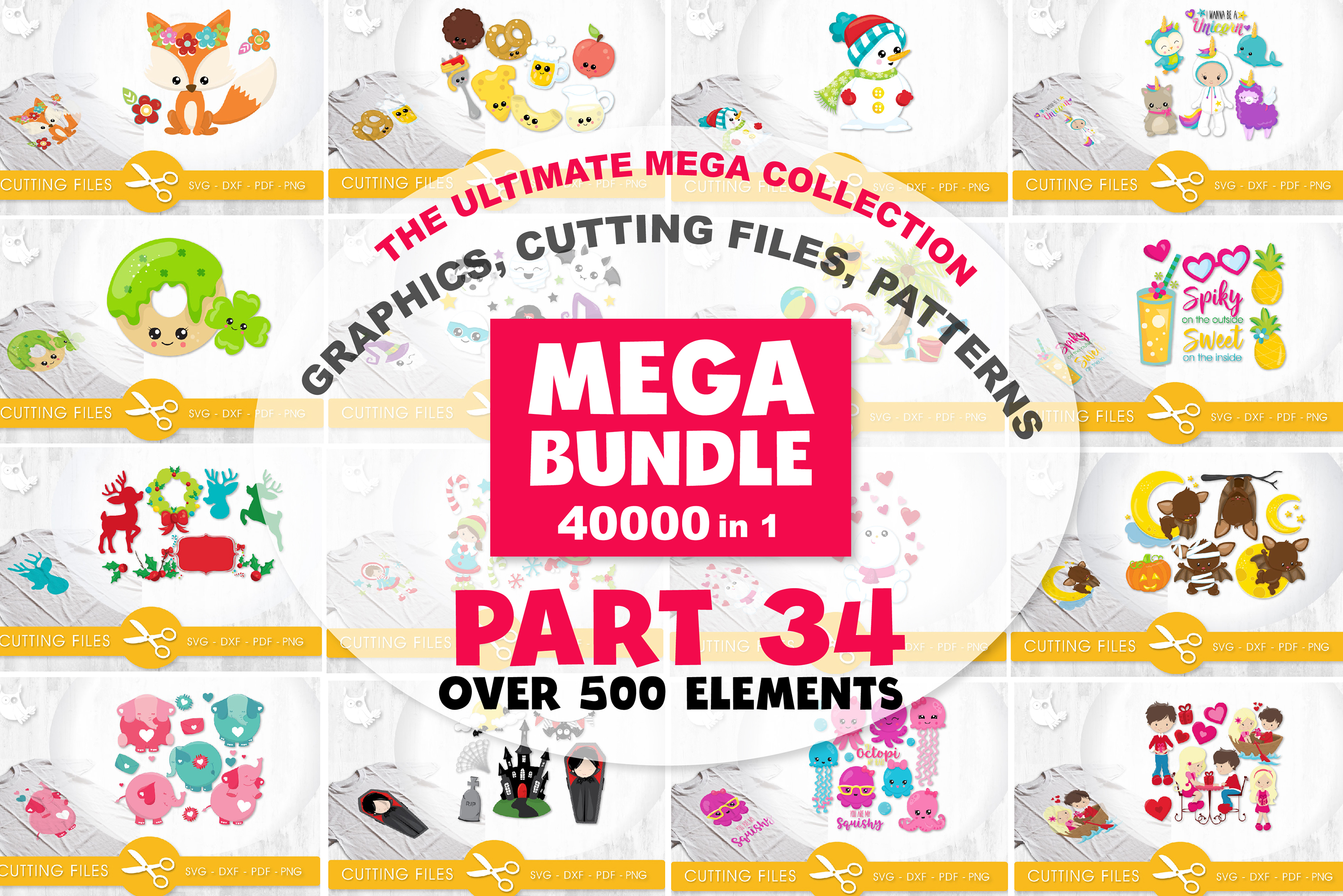 MEGA BUNDLE PART34 - 40000 in 1 Full Collection example image 1