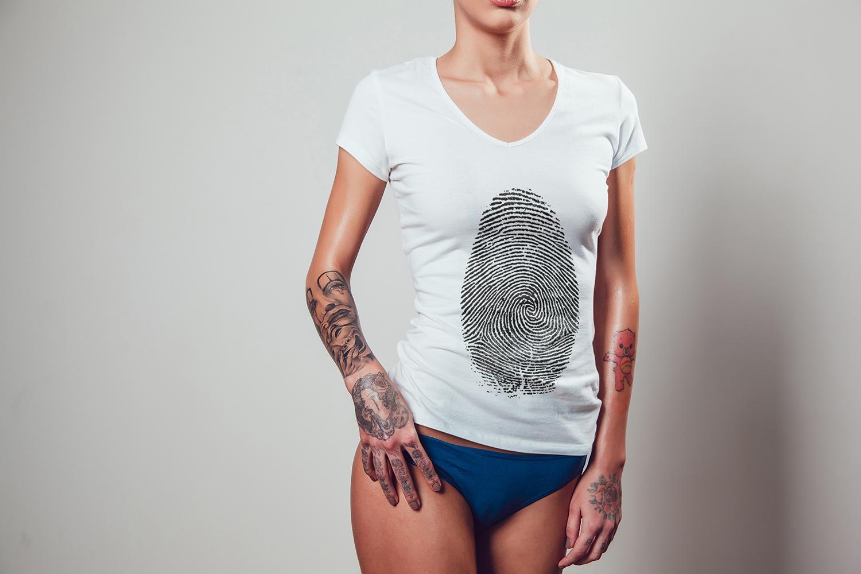 T-Shirt Mock-Up Vol.2 2017 example image 4