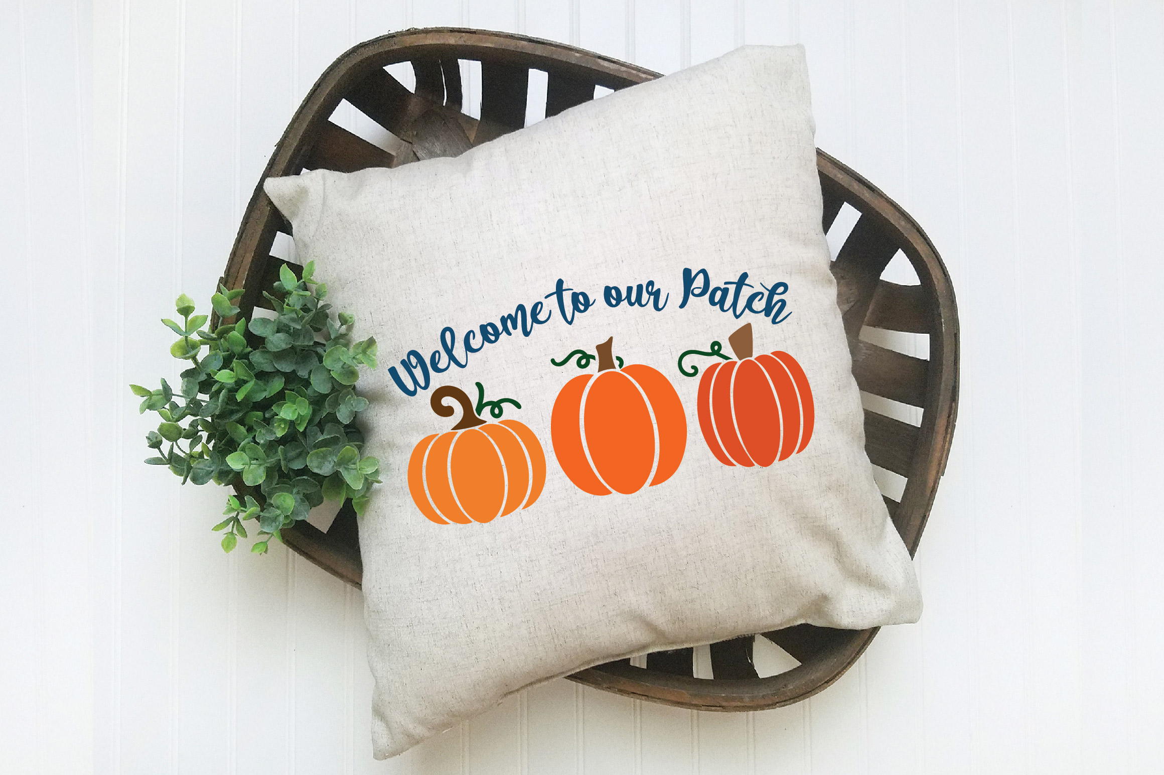 Welcome to our Patch SVG Cut File - Fall Pumpkin SVG example image 5
