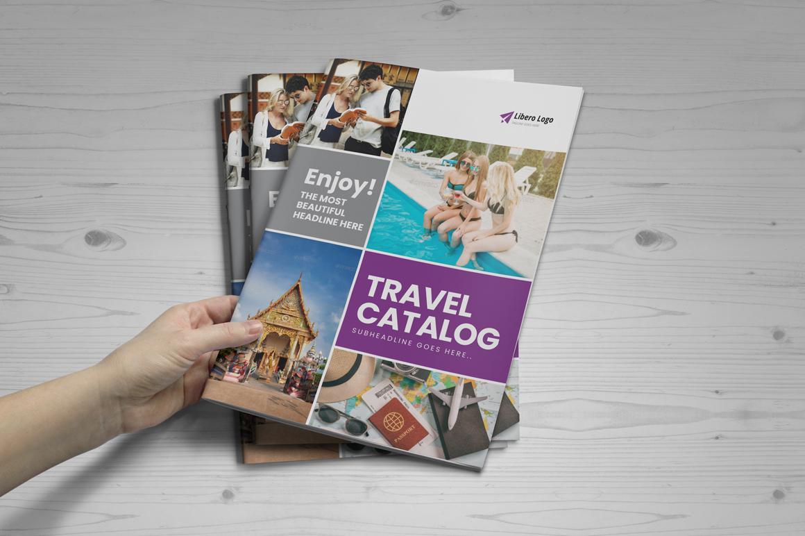 Holiday Travel Brochure Design v5 example image 9