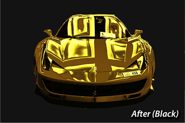 Gold Photo Manupulation Action  example image 3