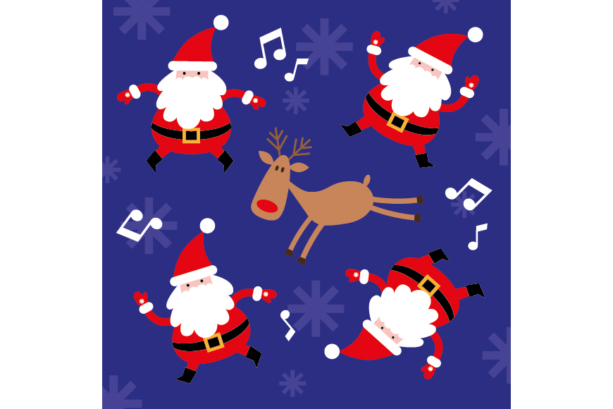 Christmas Patterns Collection. 12 of the jpeg files in resolution 4167*4167 px and 12 files eps8. example image 13