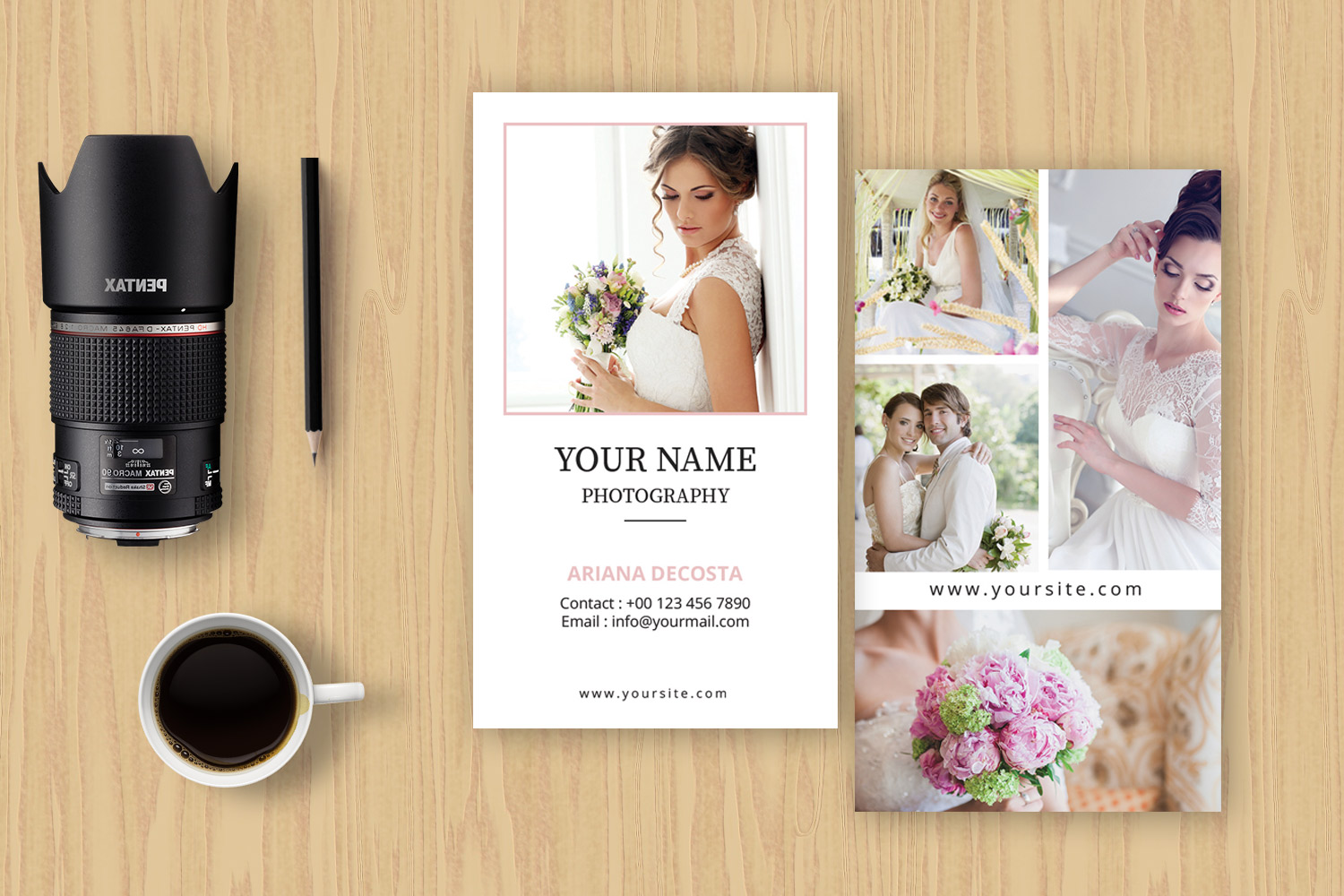 Photographer Business Card example image 3