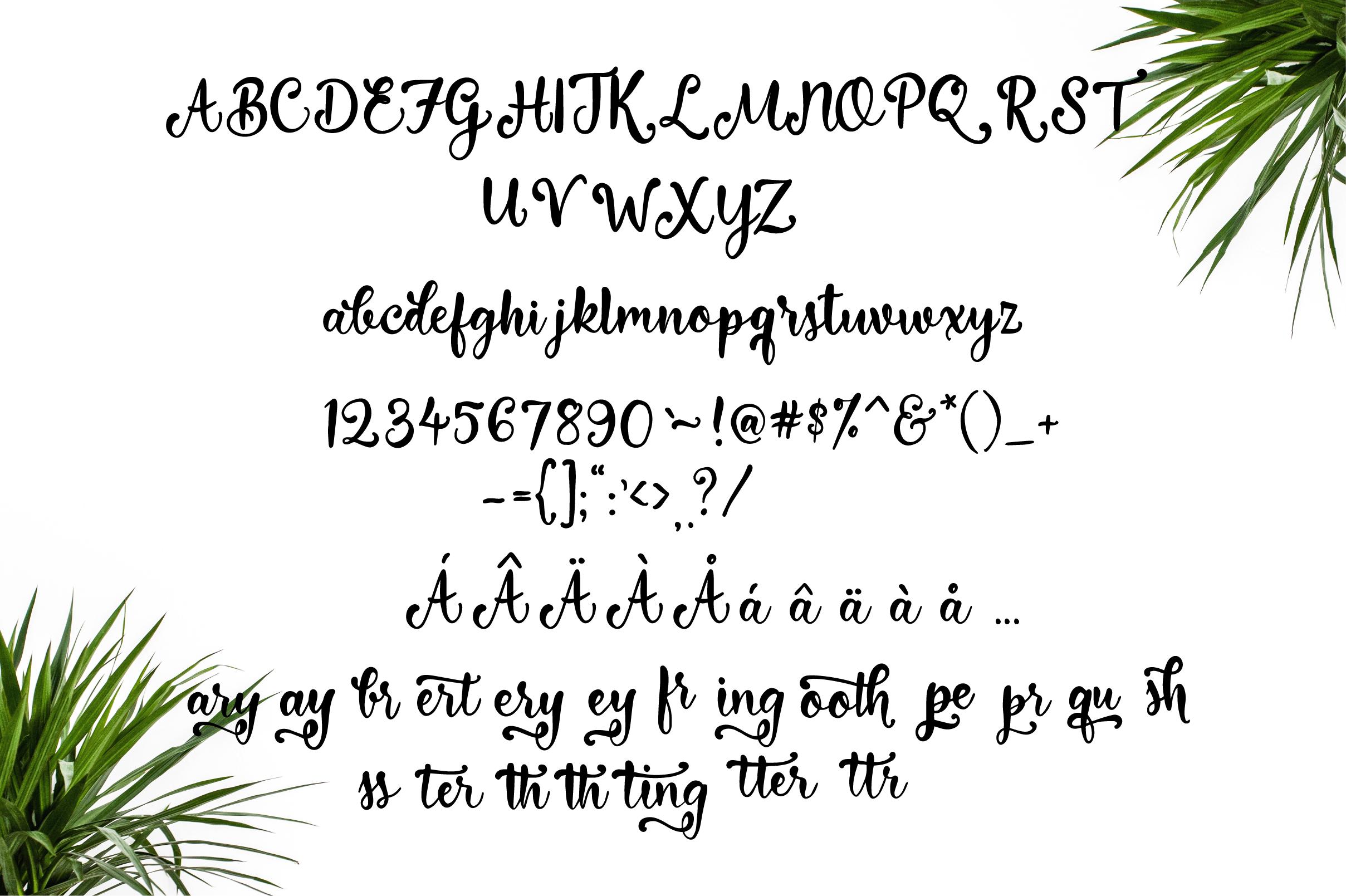 Everyday Loving Font  example image 3