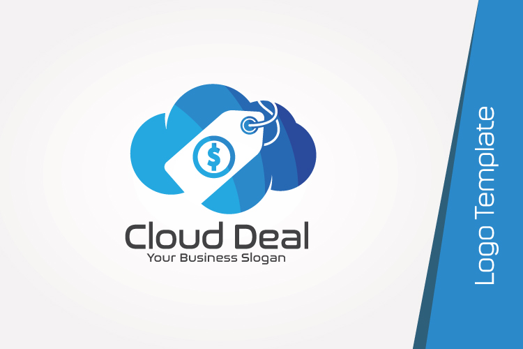 Cloud Store Logo Template example image 3