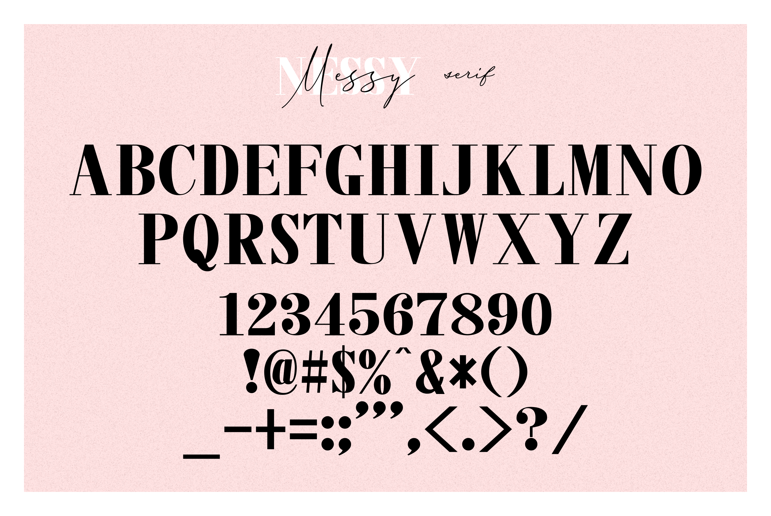 3 FONT | Messy Nessy example image 11