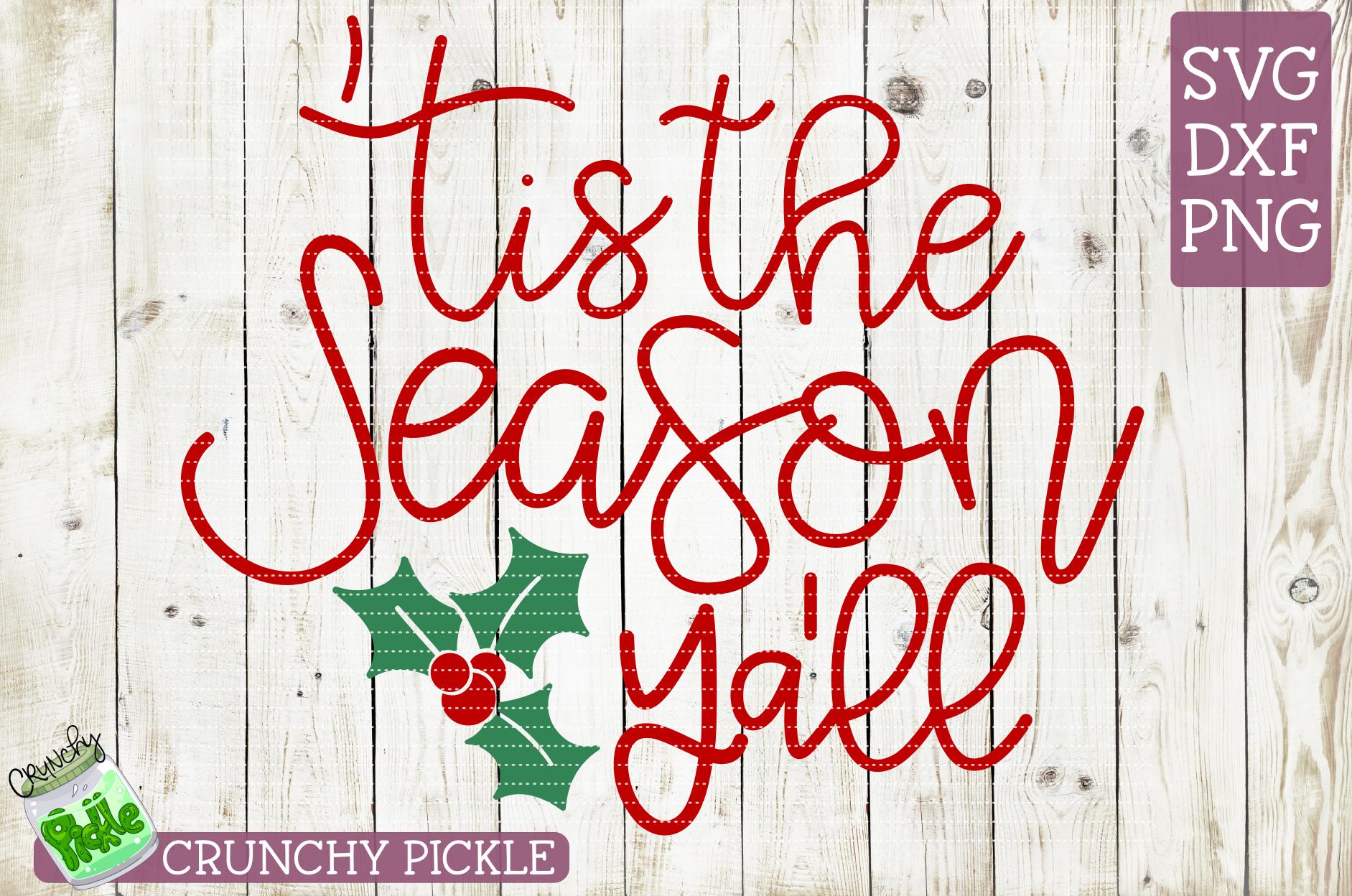 Tis the Season Ya'll Christmas SVG example image 2