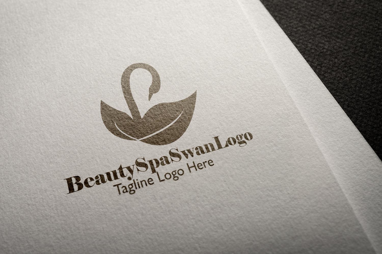 Premium Beauty Spa Swan Logo example image 4