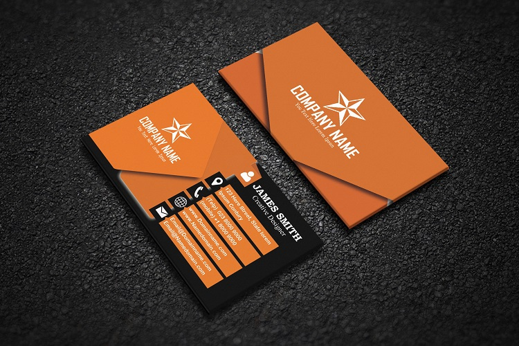 Modern Business Card example image 5