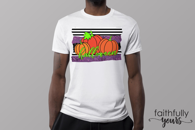Halloween Pumpkins Sublimation Design PNG JPEG example image 3