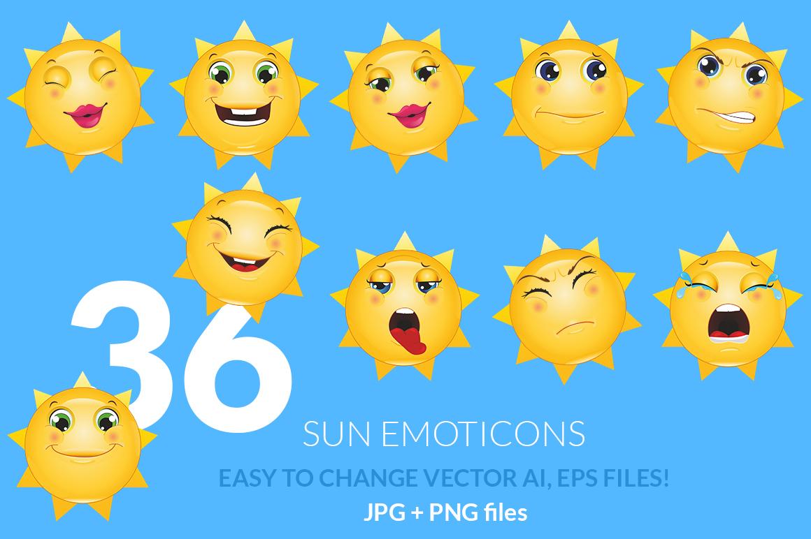 Emoticons Sun example image 1
