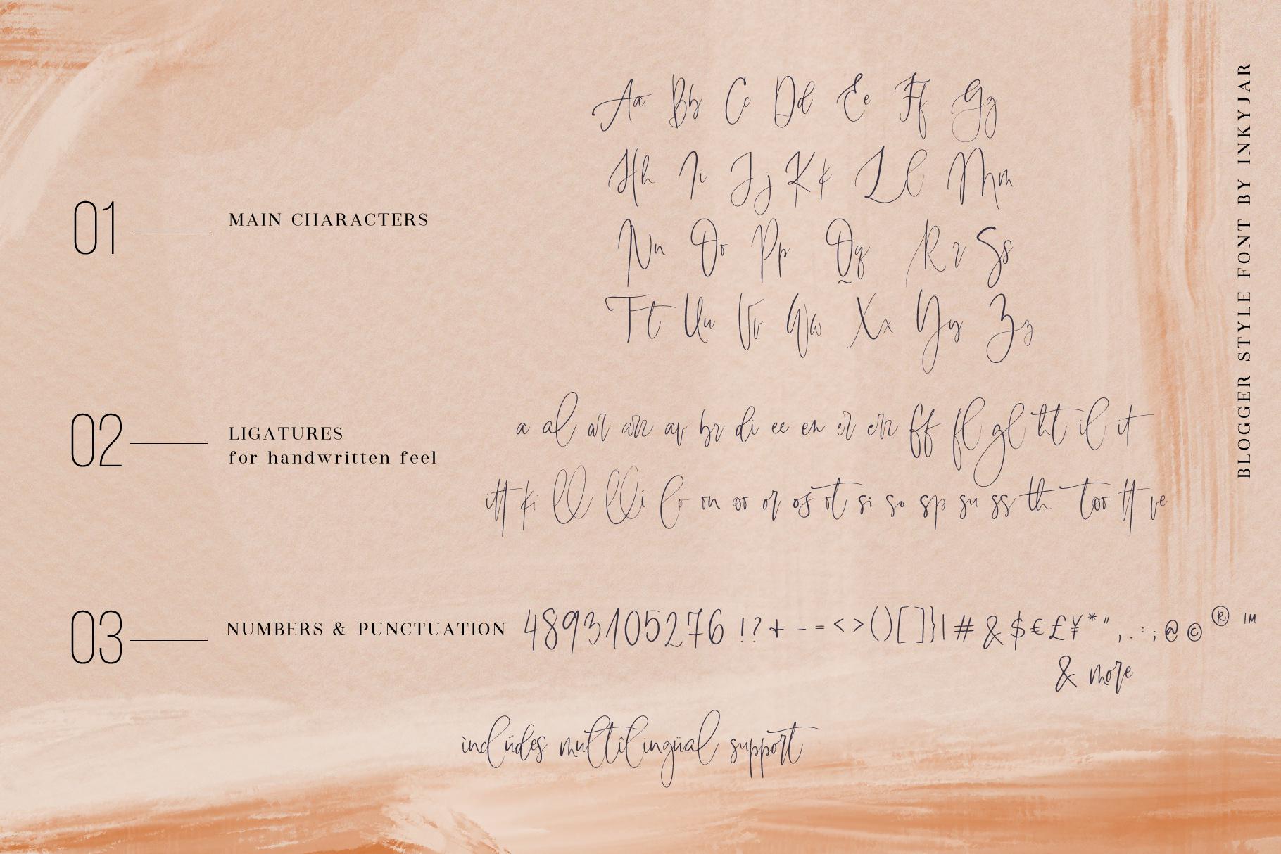 Lasiera Script Font | Blog style example image 8