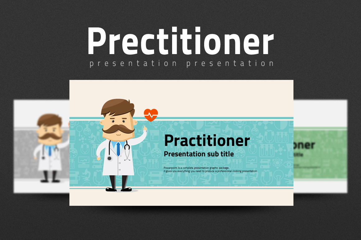 Doctor PowerPoint Template example image 1