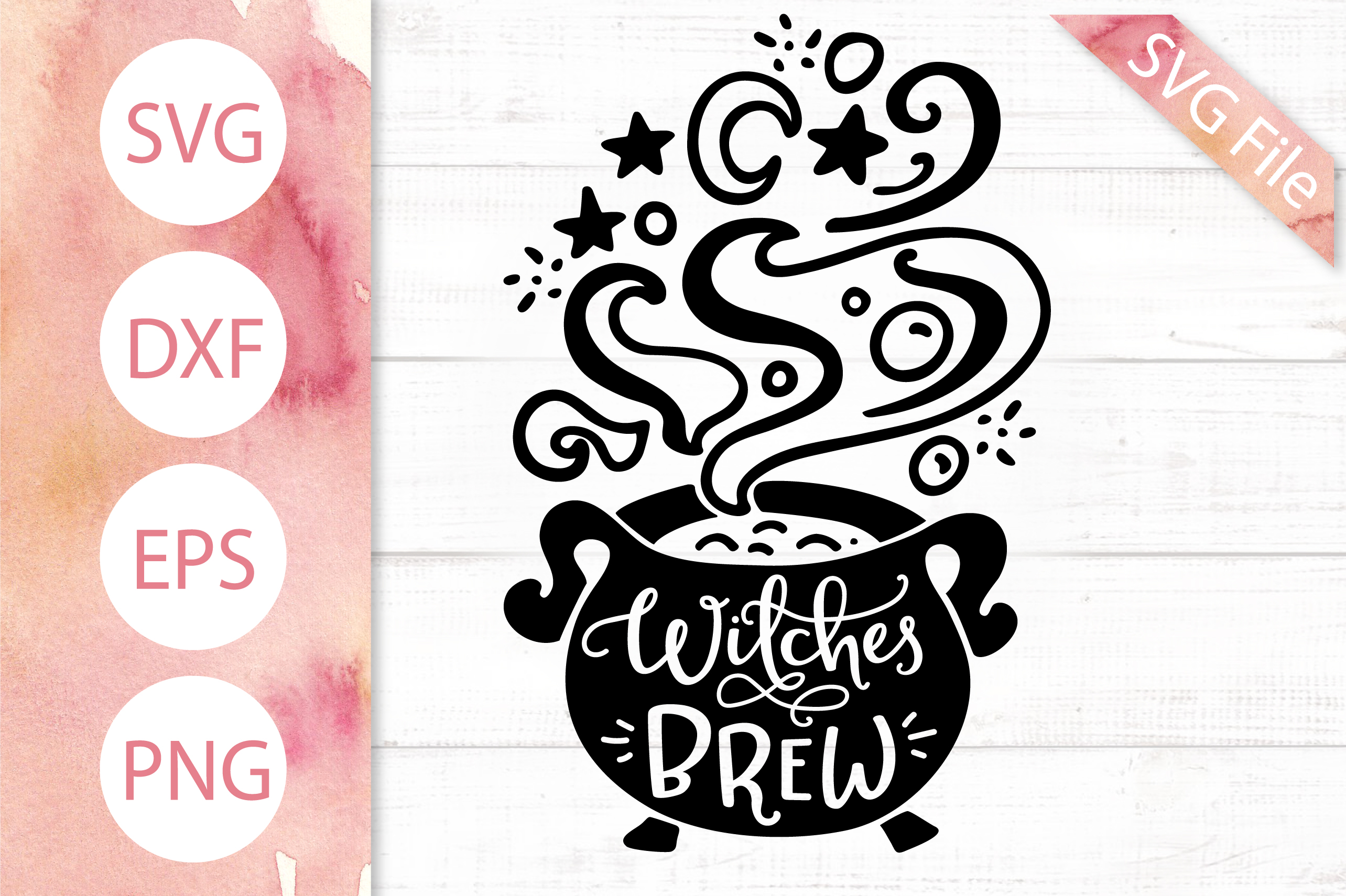 The Little Witch SVG Bundle, Halloween SVG DXF PNG EPS Files example image 8
