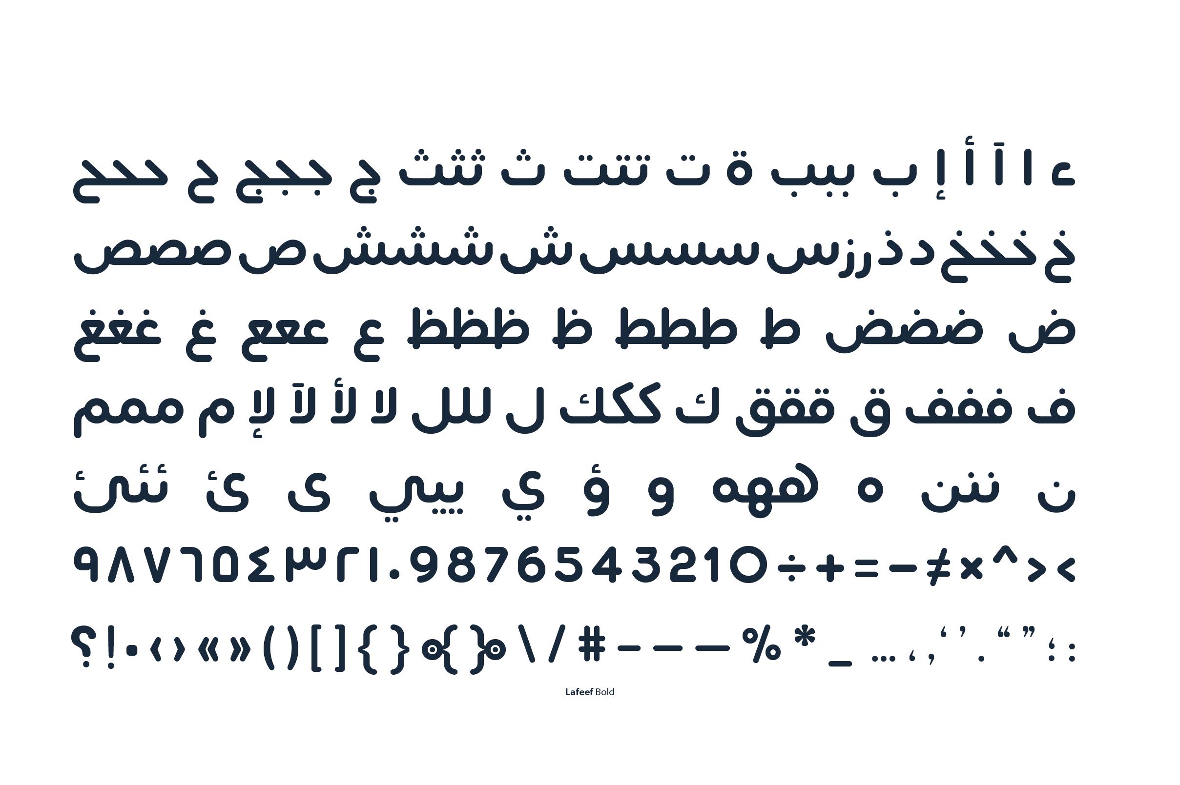 Lafeef - Arabic Typeface example image 18