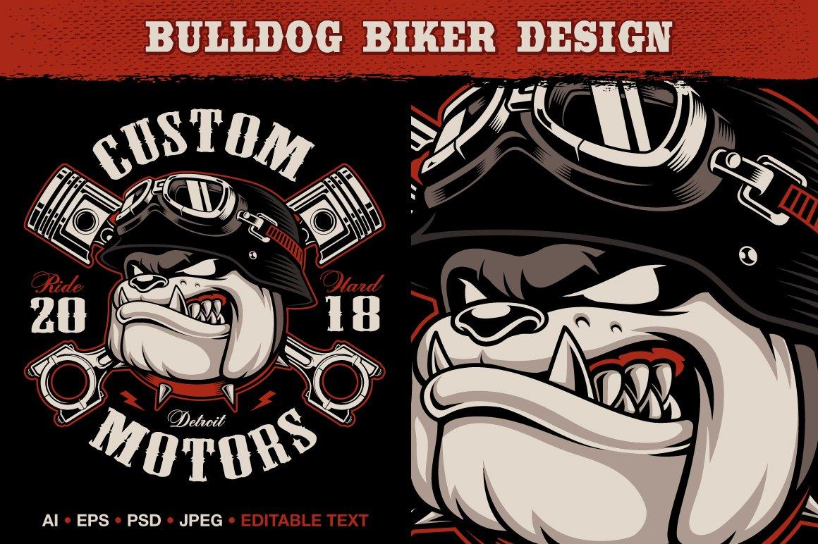 Bulldog Biker example image 1