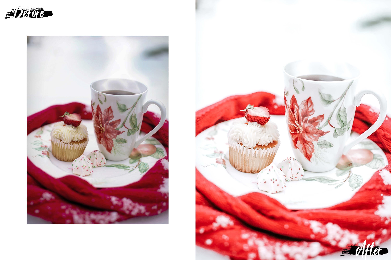 10 Winter Wonderland Desktop Lightroom Presets, ACR presets example image 3