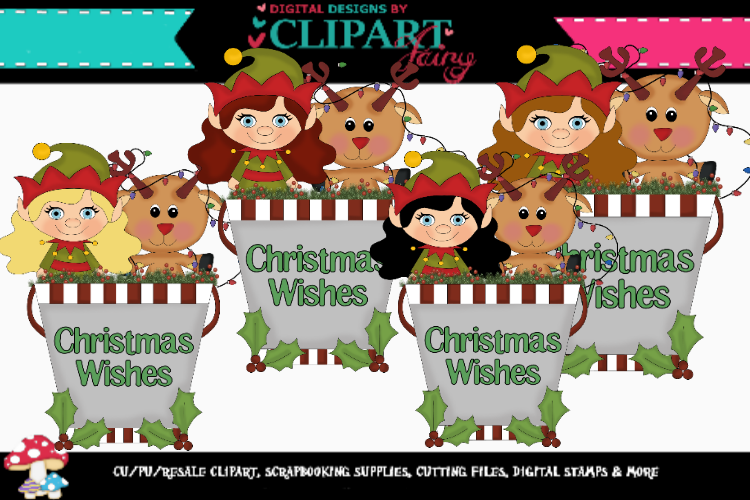 Christmas Pails 3 example image 1