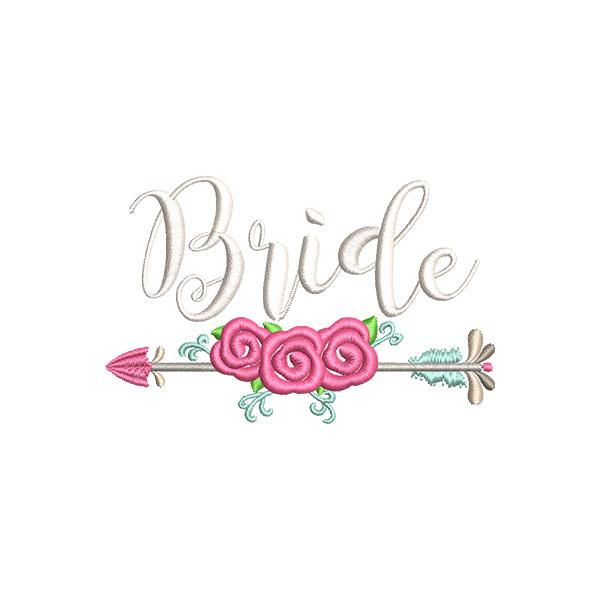 Flower Arrow Bride example image 1