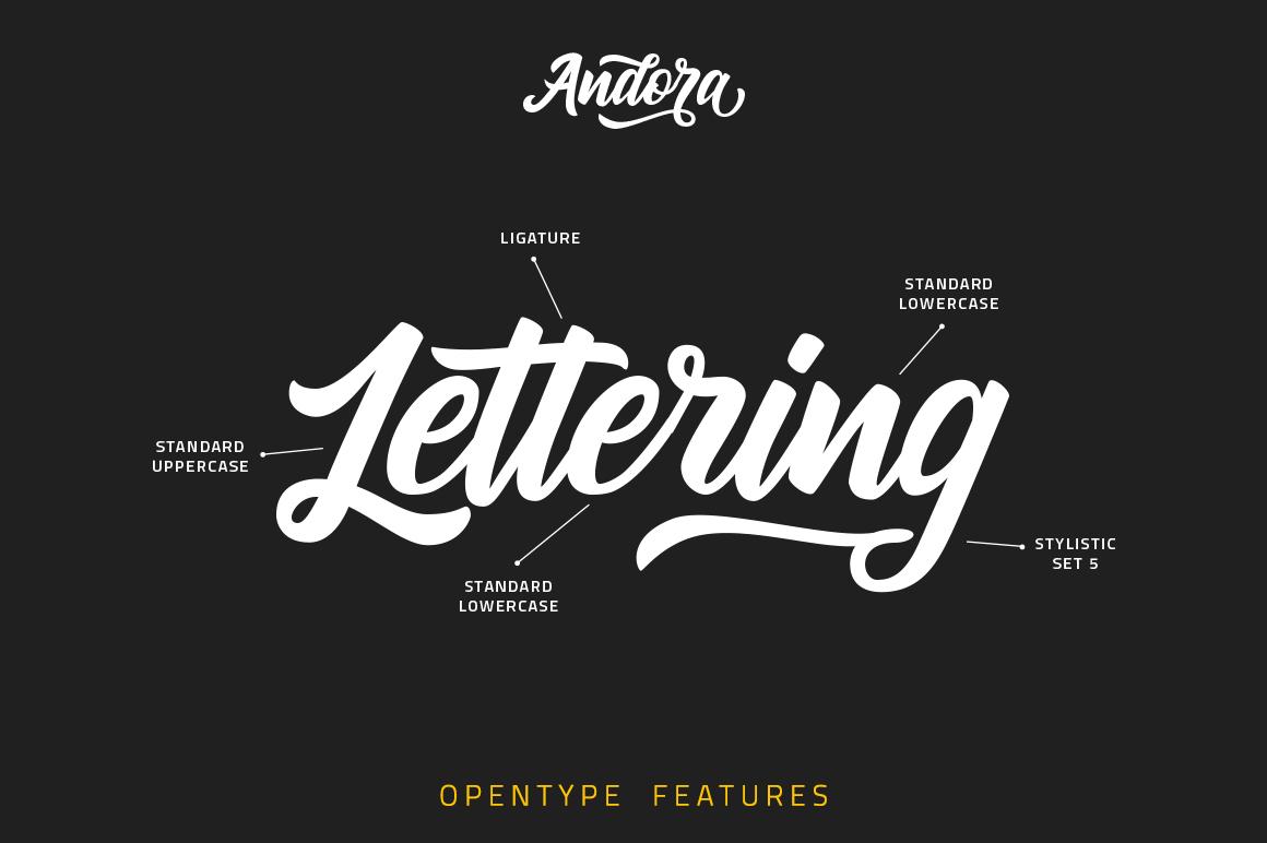 Andora Typeface example image 2