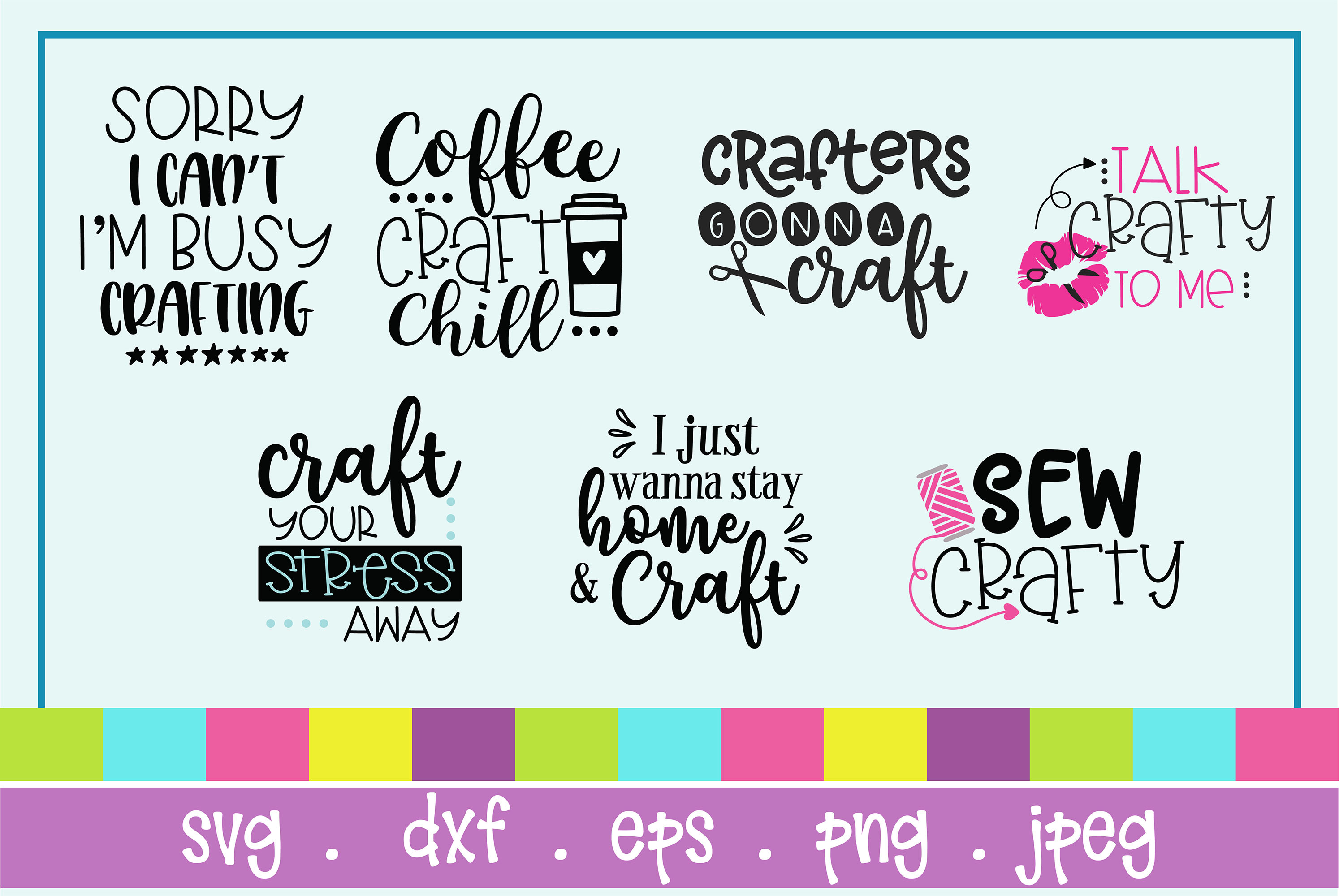 The Huge SVG Bundle Vol 2, 500 Cutting files, SVG, DXF,PNG example image 9