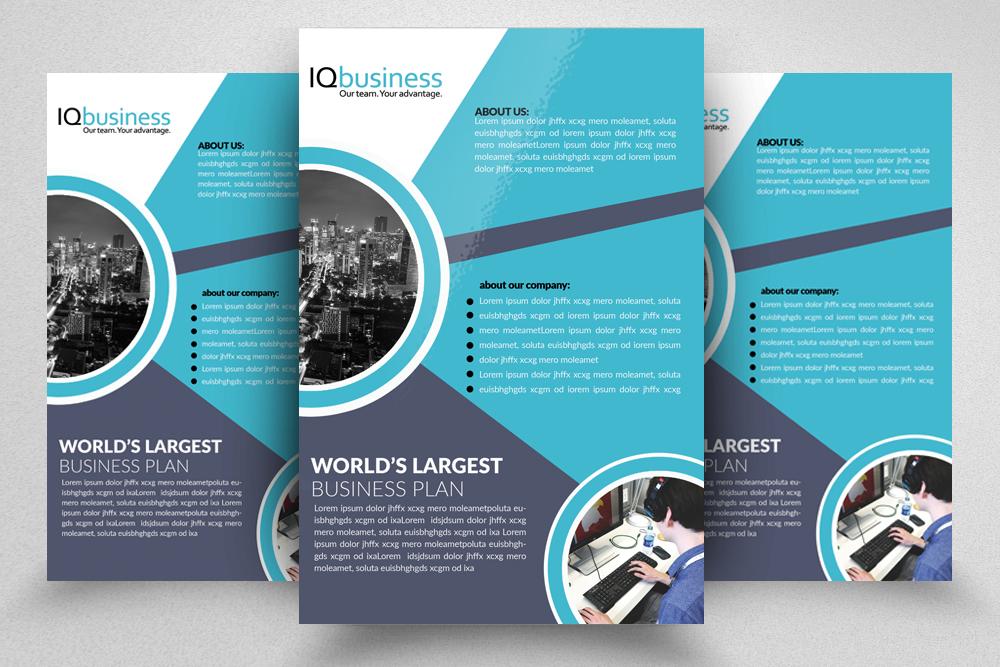 10 Multi use Business Corporate Flyer Bundle 10 example image 3