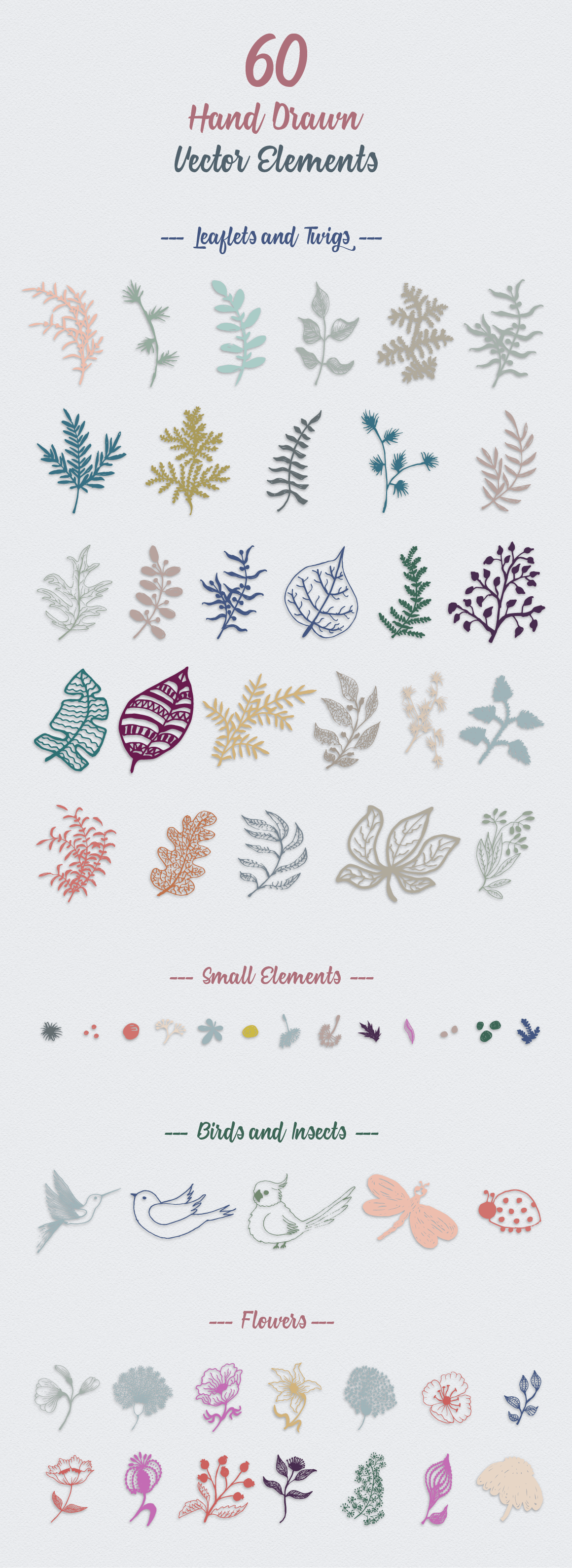 70 Wallpaper Floral Elements and Patterns example image 8