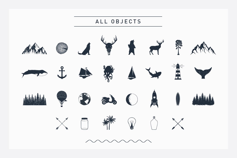 Nordicus. 60 Creative Logos example image 5