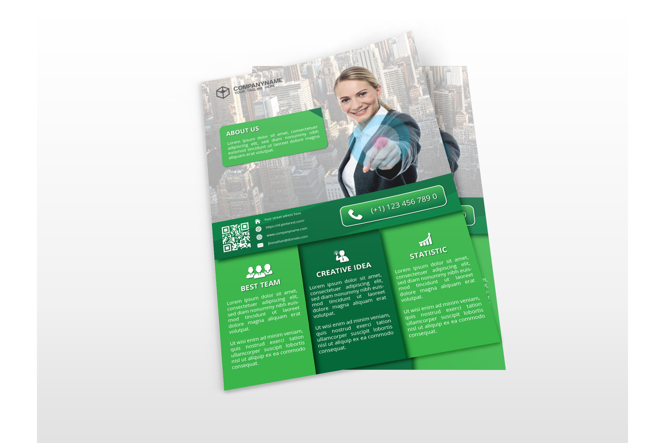 Modern Business Flyers example image 2