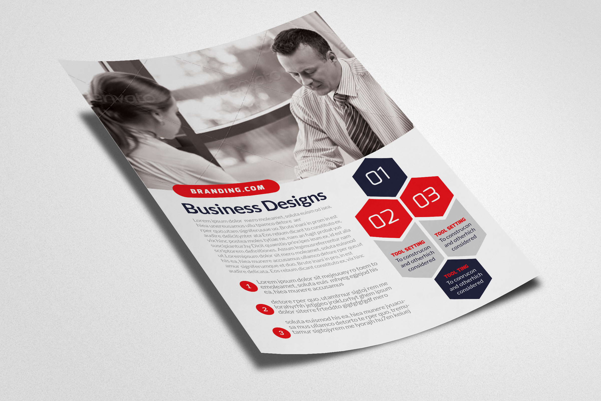 Business Training Flyer example image 2