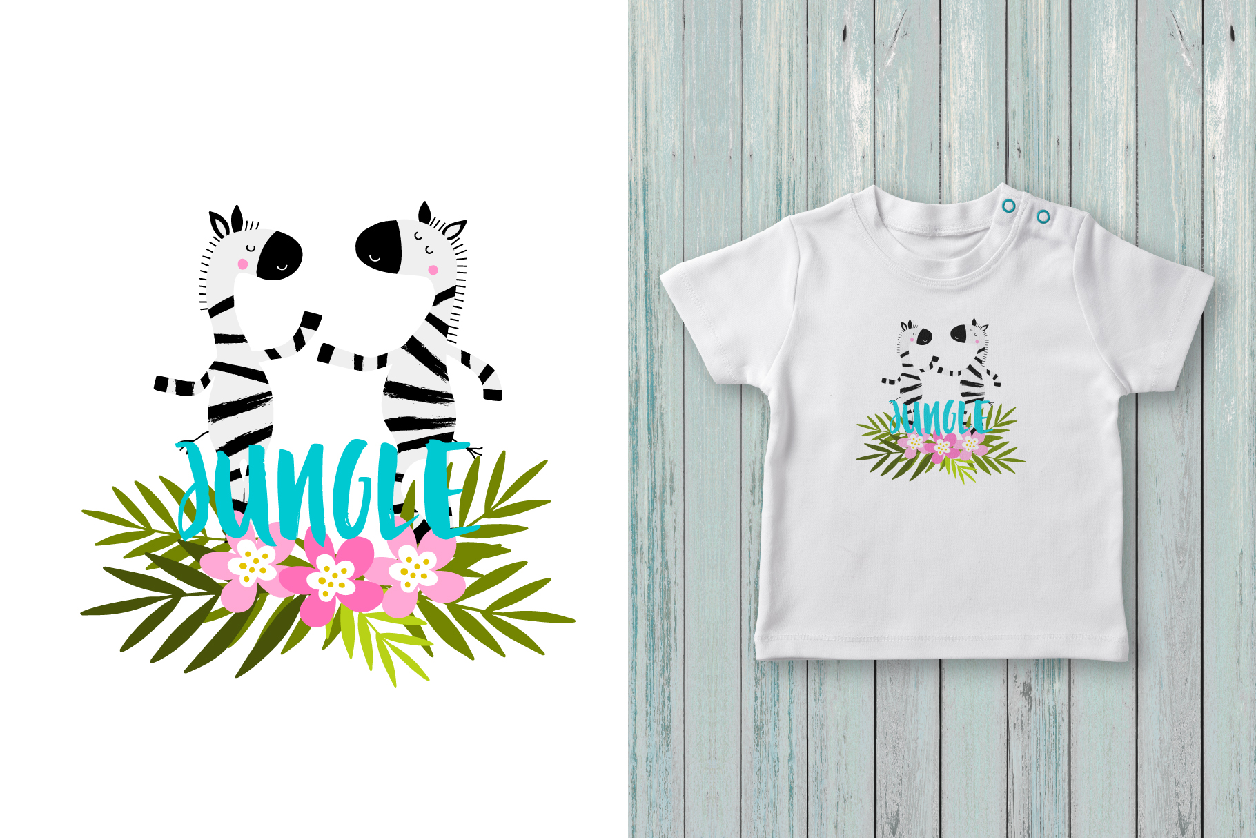 Hello summer! Tropical collection example image 5