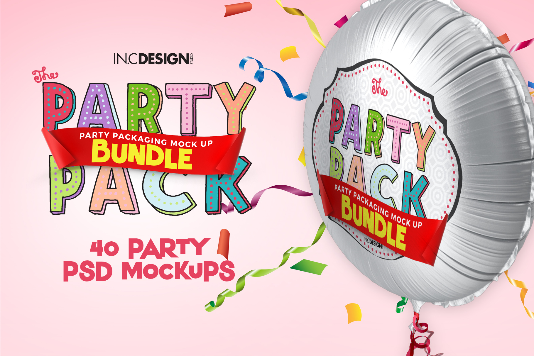 The Party Pack Mockup BUNDLE example image 2