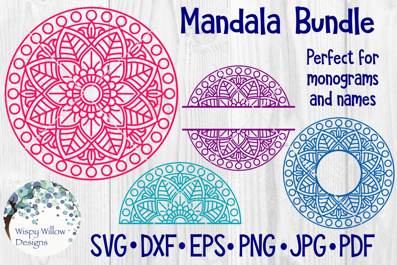 Huge Mandala Bundle | 36 SVG Cut Files example image 7