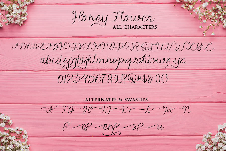 Honey FLower example image 5